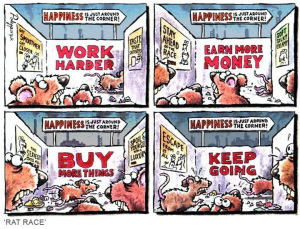 Another day in the Rat Race