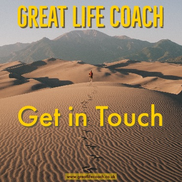 get in touch with great life coach